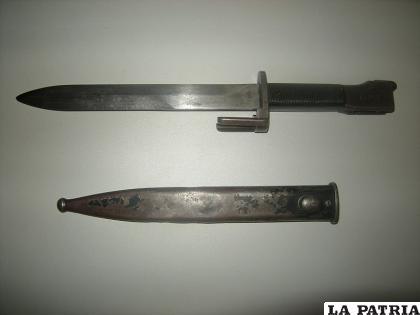 El implicado habría utilizado una bayoneta para agredir a su concubina /Foto Referencial