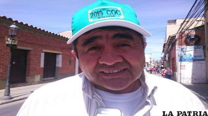 Gonzalo Rodríguez viceministro de Lucha Contra el Contrabando /Archivo NUEVO SUR BOLIVIA