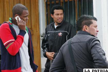 Brandao, Paz y Botero, jugadores de San José