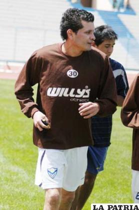 Joaquín Botero, jugador de San José