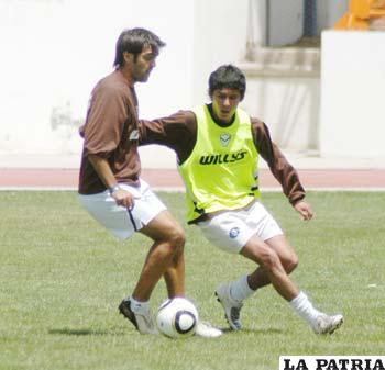 Luís Carlos Vieira y Gary Araoz