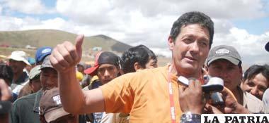 El campeón, Mauricio Soria