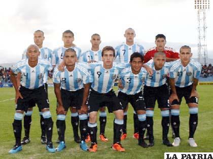 Seleccionado de fútbol Sub'17 de Argentina, puede clasificar a la próxima fase si hoy mantiene la diferencia de dos goles contra Bolivia