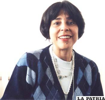 Carmen Ruiz, reconocida periodista y antropóloga