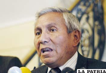 """Félix Rojas, el ministro de Trabajo, que según Pedro Montes está """"aplazado"""""""