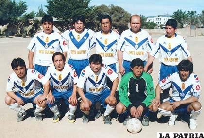 Equipo mutual de San José 2011