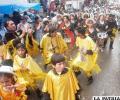 Danzas estilizadas representan  trabajo ágil y pastoreo en el altiplano