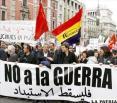 """Unos 2.500 manifestantes, pidieron """"Solidaridad con los pueblos árabes"""""""