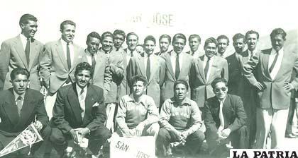 San José campeón de 1955 Los Húngaros