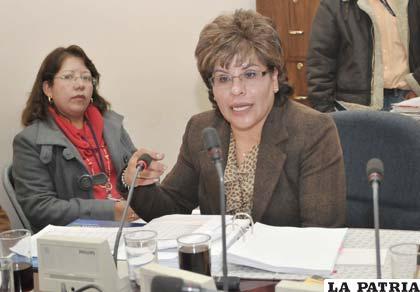 Ardaya pide ser sobreseída en caso de Aduana en Oruro