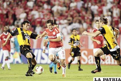 En el de ida venció Internacional (5-0)