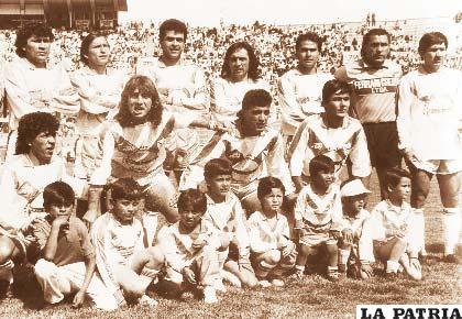 San José de 1991 que logró la primera clasificación