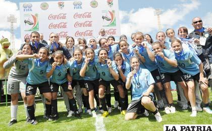 Uruguay se quedó con el subcampeonato