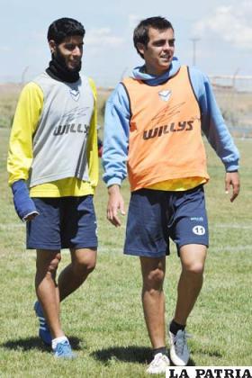 Tobías Albarracín y Luis Carlos Vieira