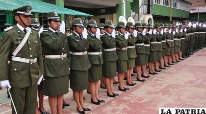 Inseguridad ciudadana motiva la graduación temprana de policías