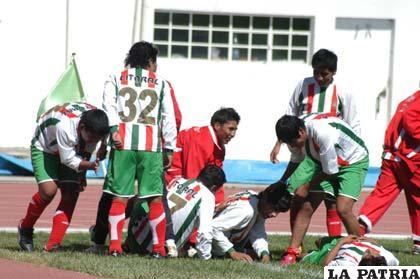 Jugadores del Club Deportivo Litoral