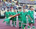 Integrantes de la selección boliviana