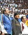 """Evo Morales: """"La mejor forma de combatir la  delincuencia es practicando deporte"""""""