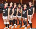 Jugadoras de Alemán en la categoría infantil