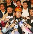 Juan Carlos Trujillo, Secretario Ejecutivo de la COB, reitera que los trabajadores se encuentran en estado de emergencia hasta recibir una respuesta del Gobierno