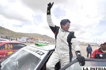 Jairo Chura, el gran vencedor de la categoría Libre