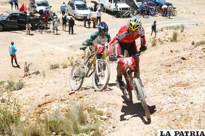 Ciclistas que habitualmente participan de este tipo de competencias
