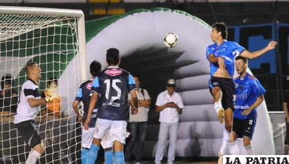 Hernán Boyero anotó el segundo gol de Blooming