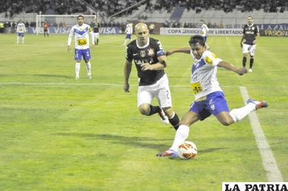 Los incidentes se registraron el partido que jugaron San José y Corinthians