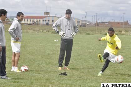 Carlos Lampe pasa por un buen momento en la Copa