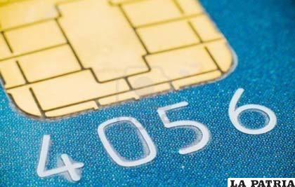 Microchip en las tarjetas dará mayor seguridad a los usuarios