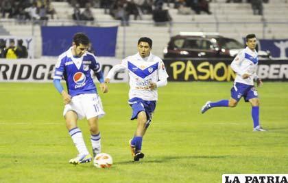 San José venció por 2 a 0 a Millonarios el jueves en Oruro