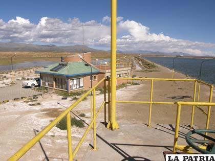 Cuenca Poopó trabaja en la rehabilitación de la Planta de Tratamiento de Aguas Servidas