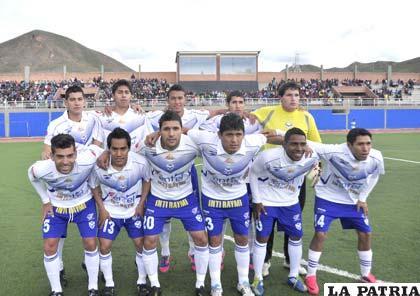 El equipo de San José, que jugó el amistoso con Aurora