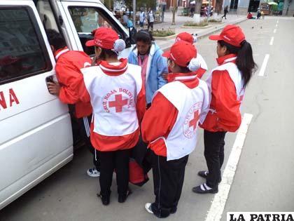 Voluntarios trabajaron en alerta amarilla