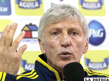 Néstor Pekerman, D.T. de la selección colombiana
