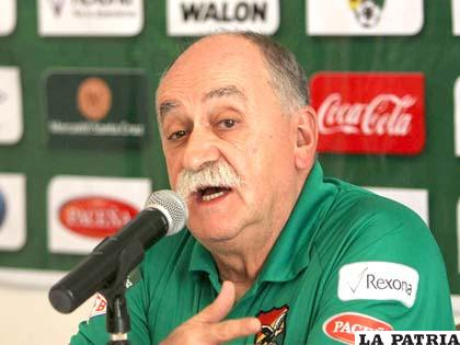 Xavier Azkargorta, D.T. de la Selección Boliviana