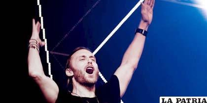 El DJ francés David Guetta