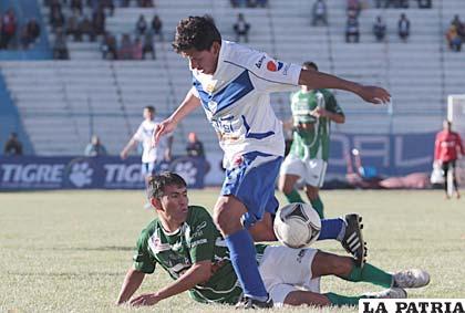 En Oruro jugaron el 29 de septiembre de 2012, San José venció 4-3