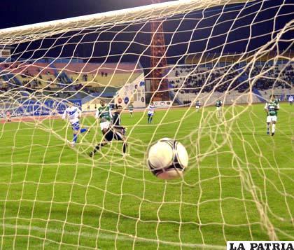 El tercer gol de San José, fue obra de Cabrera