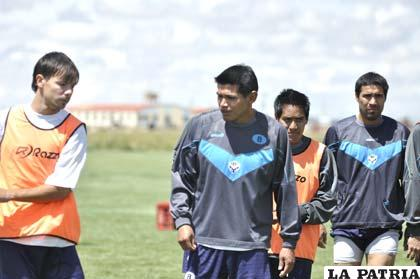Bonafina, Torrico, Dury y García, jugadores de San José