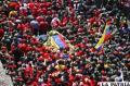 Hugo Chávez recibió ayer su último adiós del pueblo venezolano