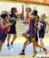 Derecho venció a Saracho en partido  vibrante por la primera semifinal:100-99