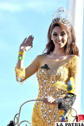Andrea Gutiérrez, predilecta del Carnaval 2014