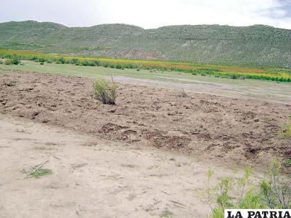 Inicio de época de cosecha vuelve a reactivar conflicto limítrofe entre Oruro y Potosí