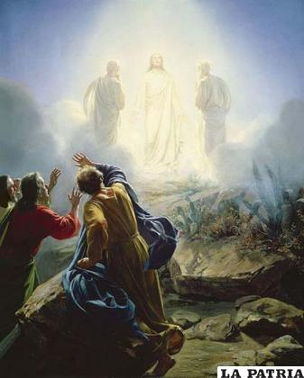 Transfiguración de Jesucristo en el monte