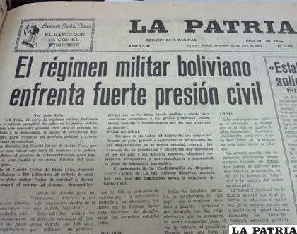 Los civiles ya no soportaron más los abusos de los dictadores