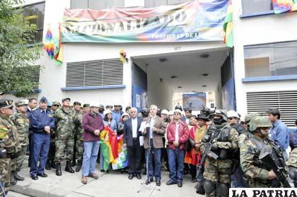 Con el gobierno de Evo Morales llegaron las llamadas nacionalizaciones