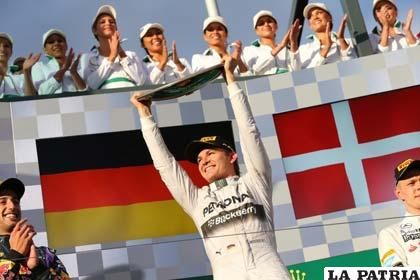 El piloto alemán Nico Rosberg