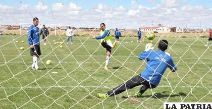 El equipo de San José no descuida sus entrenamientos pensando en Guabirá