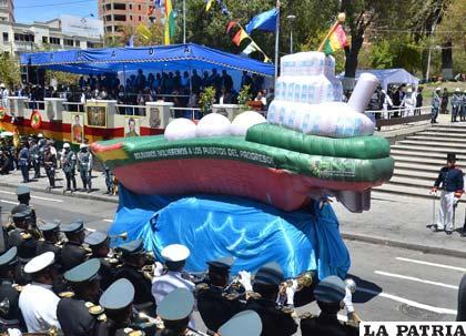 Así Bolivia manifestó su anhelo de volver al Pacífico